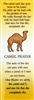 Camel Prayer Bookmark