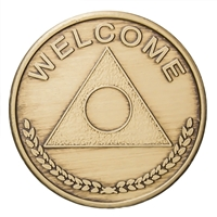 Al-Anon 'Welcome' Bronze Medallion