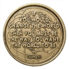 If it is to be...it is up to me Bronze Inspirational Medallion