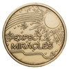 Bronze Expect Miracles Inspirational Coin
