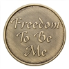 To Thine Own Self Be True Bronze Coin