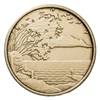 Serenity is Peace within the Storm Bronze Coin