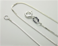 Sterling Silver Light Box Chain