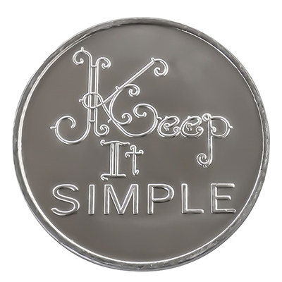 Keep It Simple Recovery Coin