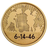 Engraved Planting Seeds Medallion