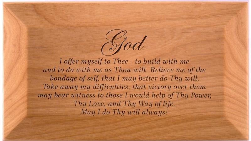 3rd Step Prayer God Box