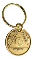Make a Key Tag out of a Bronze Medallion