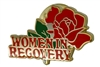 Women in Recovery Lapel Pin