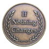 If Nothing Changes Recovery Medallion