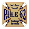 Rule 62 Die Cut Sticker