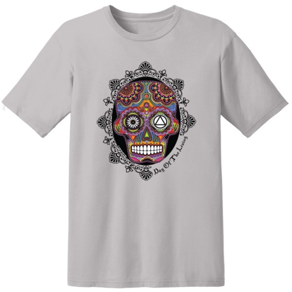 Aa Odat Skull Silver T Shirt I Recoveryshop