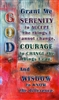 Serenity Prayer Verse Card