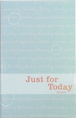 Just For Today Book, Daily Meditations for Recovering Addicts.