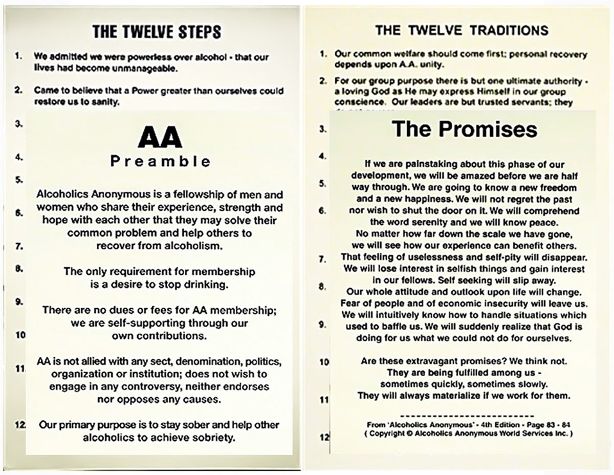It is an image of Priceless Aa Promises Printable