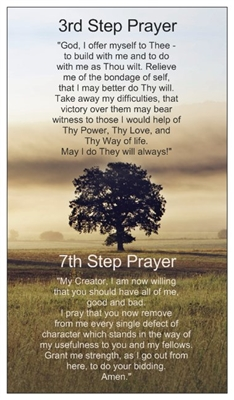 Aa 3rd Amp 7th Step Inspirational Card Recovery Shop